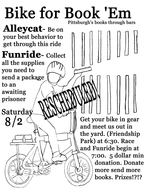 Bike for Book 'Em Alleycta and Funride