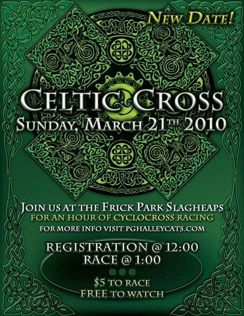 Celtic Cross flyer