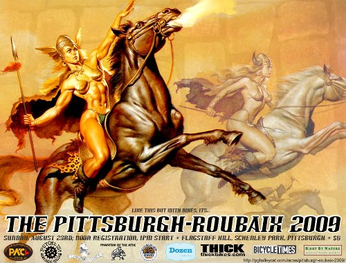 Pittsburgh-Roubaix 2009 flyer