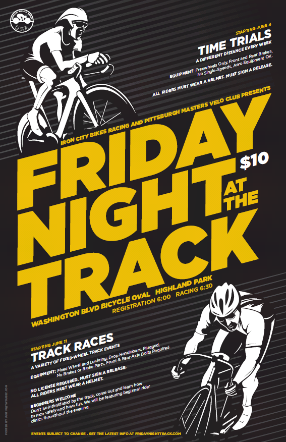 friday night at the track flyer 2010